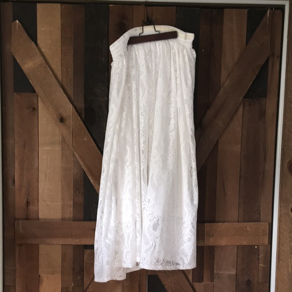 Magic White Skirt